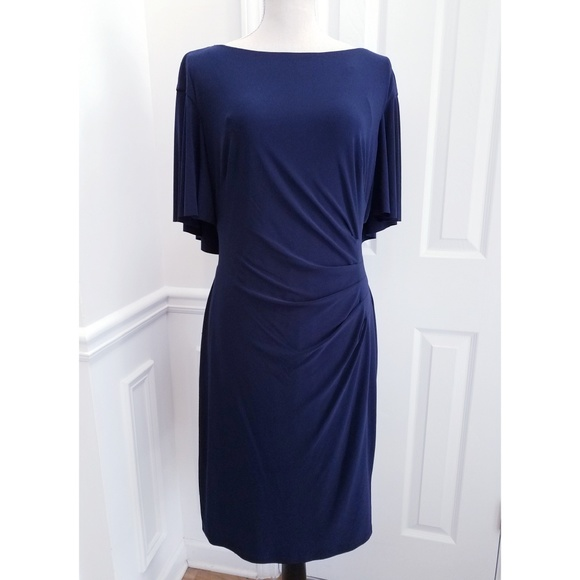 d43830218ac5 Lauren Ralph Lauren Dresses   Skirts - Lauren Ralph Lauren Cape Overlay  Sheath Dress